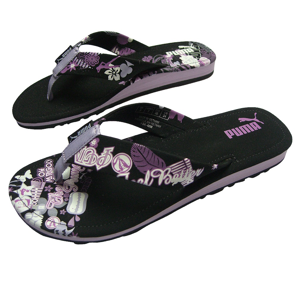 puma flip flops damen