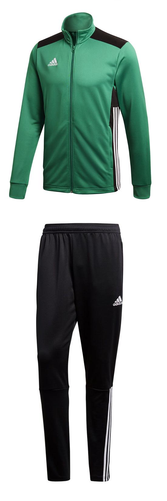 adidas trainingsanzug grün weiß