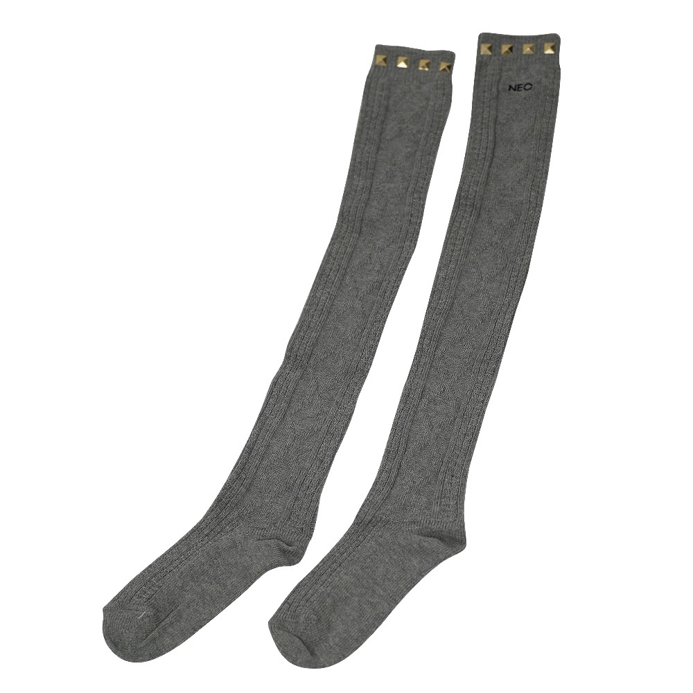 Adidas Socken Kniestrümpfe D84750 Grau Damen Kinder | eBay